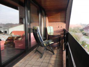 balkon ferienwohnung ditzum sonja