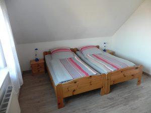 Schlafzimmer Ferienwohnung Sonja Ditzum
