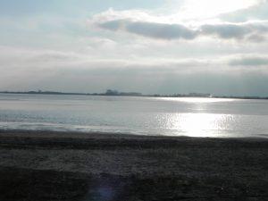 Blick auf das Große Meer