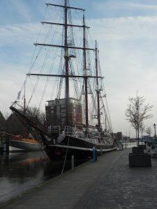 Segelschiff in Emden